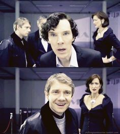 John is so amazed that Sherlock solved the painting and I love that. So very much.