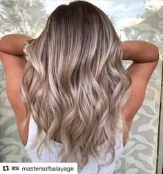 "25 Likes, 2 Comments - Blondes N' Balayage (@blondesnbalayage) on Instagram: ""@mastersofbalayage is another page I follow very closely they showcase a collection of beautiful…"""