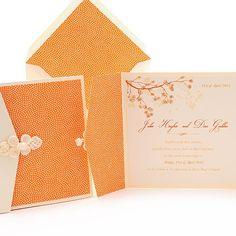 Orange....pretty paper