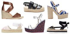 10 Pairs of Espadrilles You'll Wear All Spring - From wedges and heelsto classic slip-on versions, theseare the espadrilles you'll wear all season.  Check out these amazing espadrilles models:  H&M Leather Sandals    Jimmy Choo Delfine Flat    Soludos Oui Non Smoking Slipper   Castaner Ada 114    Sophia Webster L...  #Espadrilles, #Fashion, #Spring