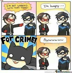 BATMAN IS SO CUTE !!!!!!!!!!