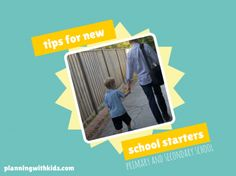 tips for new school starters - both primary and secondary school students First Day Of School, Back To School, School Organisation, Getting Organized At Home, Starting School, Secondary School, Family Life, Starters, How To Plan