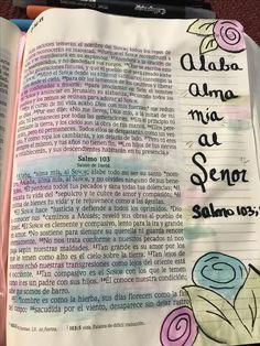 Biblia Journaling Salmo 103;1  Alaba alma mia al Señor #bibliajournalingespañol #bibliajournaling