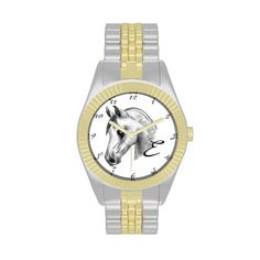 customize with your initial Arab horse watch