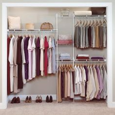 This closet system from Target is only $34.99...