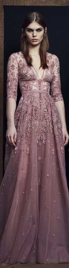 Zuhair Murad Pre-Fall 2018 Fashion Show Couture Fashion, Fashion Show, Fashion Outfits, Women's Fashion, Fashion Brands, High Fashion, Zuhair Murad, Deco Rose, Autumn Fashion 2018