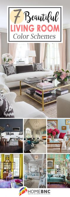 7 Living Room Color Schemes That Will Make Your Space Look Professionally  Designed | Living Rooms, Room And House Part 80