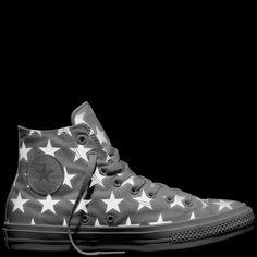 Chuck Taylor All Star II Reflective Star Print White Silver White Cool  Converse 29448e92e