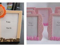 Porta-Retrato em EVA, pode ser utilizado como decoração de centro de mesa dos convidados, ou utilizado como lembrancinha.