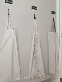 Lovely laundry bags - from freckled laundry (blog)
