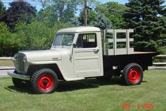 Vintage Trucks 1948 Willys Truck - Photo submitted by Chuck Facklam. Jeep Pickup Truck, Classic Pickup Trucks, Antique Trucks, Vintage Trucks, Toy Trucks, Monster Trucks, Dream Cars, Classic Cars, Woody Wagon