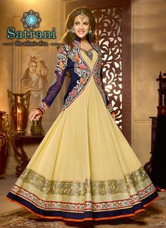 Stunning Anarkali Suits For Ethnic Collection(227D)  Please visit below link http://www.satrani.com/salwar-suits&catalog=559  For more queries,  email id: inquiry@satrani.com Contact no.: 09737746888(whats app available)