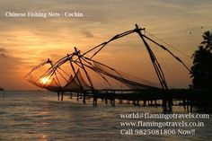 Flamingo Travels can now take you to the beautiful view of Chinese fishing nets in Cochin- Kerala through its exclusive tour packages. These flexible kerala tour packages from Mumbai and Ahmedabad will take you to God's Own country. Call us at 9825081806 or Request a Call back for more details
