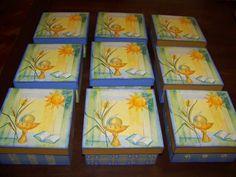 caixas para meus alunos da Catequese por ocasião da 1a Eucaristia