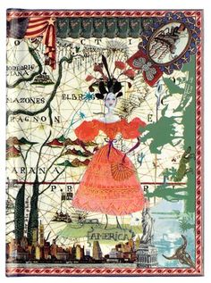 The Terrier and Lobster: Christian Lacroix Papier Six Continents Notebook Set