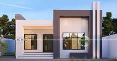 2 BHK 874 square feet contemporary single floor home is part of Home architecture styles - 874 square feet 2 bedroom contemporary style single floor house plan by Rit designers, Kannur, Kerala
