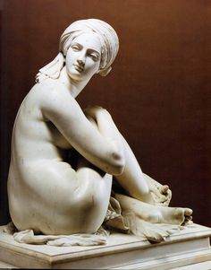 Odalisque - Sculpture by French Artist James Pradier 1841 | Historical Arts and Photographs of the World