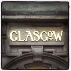 Glasgow signage Parkhead cross