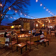 142 Awesome Outdoor Restaurant Patio decoor net - All About Outdoor Restaurant Design, Restaurant Seating, Cafe Restaurant, Outdoor Deck Lighting, Outdoor Cafe, Outdoor Dining, Landscape Lighting, Outdoor Lounge, Food Park