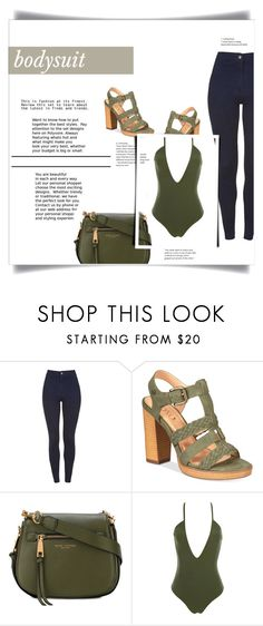 """""""Bodysuit: Love your body"""" by lilibarbosa ❤ liked on Polyvore featuring XOXO, Marc Jacobs and Hot As Hell"""
