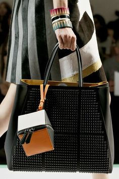 Fendi. Cube. Bag. Found at http://Vogue.com #fendi #fashion #style #bags