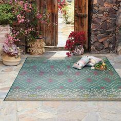 7' X 10' Outdoor Rug Aqua - Opalhouse™ : Target Patio Rugs, Patio Dining, Outdoor Dining Set, Outdoor Area Rugs, Patio Table, Outdoor Yoga, Indoor Outdoor, Extension Table, Frame Stand