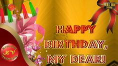"""Greetings for Happy Birthday, Free Animated Ecards, Wishes for Wife (Birthday Video). Your Search for """"Birthday"""" Ends Here. Wish your Dear one's anywhere in . Happy Birthday Video, Happy Birthday Wishes, Birthday Greetings, Birthday Wish For Husband, Wife Birthday, Free Animated Ecards, Youtube Video Player, E Greetings, Whatsapp Videos"""