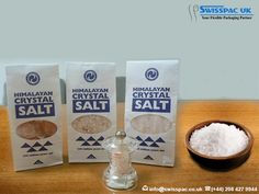 We have been providing re-sealable #SaltPackaging bags, which offer ease and convenience and prevent any kind of contamination. For further details visit at http://www.swisspac.co.uk/salt-packaging/