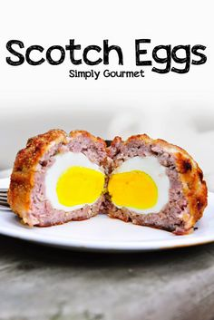 Baked Scotch Eggs | Simply Gourmet