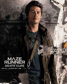 """: """"#NEW character poster for #TheDeathCure Dylan O'Brien as Thomas"""""""