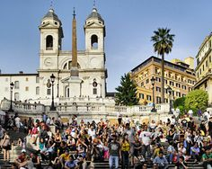 The Spanish Steps  Rome, Italy