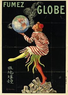 Fumez le Globe by Leonetto Cappiello