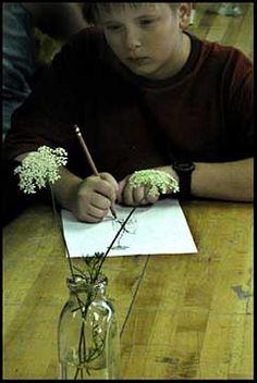 Art Warm Ups Rituals. Interesting ideas on teaching art.