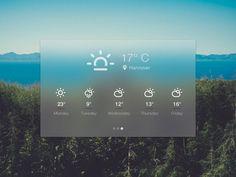 Weather-Widget