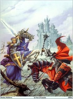 In View of Camelot by Rodney Matthews