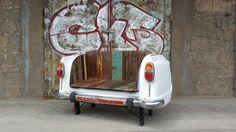 Upcycling Automöbel. automotive furniture. auf ninety-seven.de