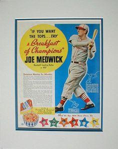 Joe Medwick, Wheaties