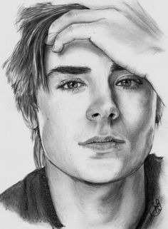 Zac Efron by xbabs {from Germany} ~ pencil portrait