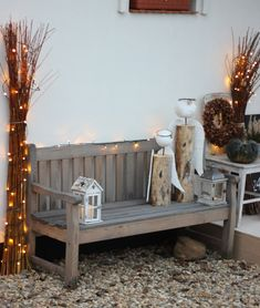 U nás na kopečku: adventně andělsky Outdoor Furniture, Outdoor Decor, Christmas, Home Decor, Xmas, Decoration Home, Room Decor, Navidad, Noel