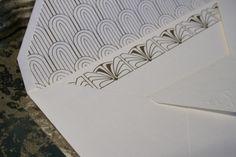 Detalhe convite por Boda Design