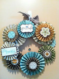 Wreath idea with endless variations