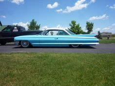 This Is My Dream Car. A 1961 Blue Cadillac DeVillla Hard Top