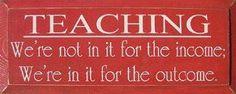 Teaching...