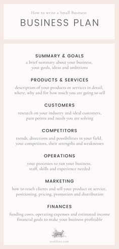 Business Plan Outline, Writing A Business Plan, Business Plan Template Word, Marketing Plan Template, Business Templates, Best Small Business Ideas, Business Plan Examples, Example Of Business Plan, How To Business Plan
