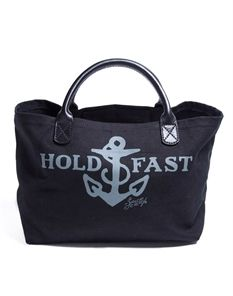 Sailor Jerry bag--- I am in search of something stylish that holds as much as a backpack.
