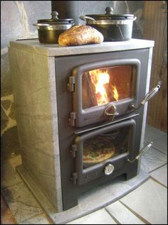 indoor wood fired ovens | Vermon Bun Baker Wood Burning Oven - With Soapstone