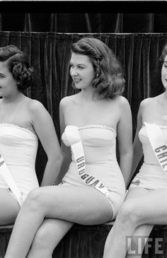 Vintage Portrait Photographs of 30 Contestants from the Very First Miss Universe Pageant, 1952