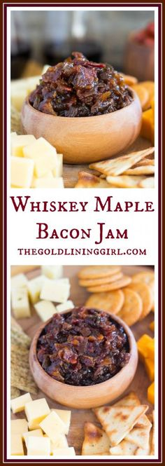 Nadire Atas All Things Maple Whiskey Maple Bacon Jam Jelly Recipes, Bacon Recipes, Jam Recipes, Canning Recipes, Appetizer Recipes, Appetizers, Canned Bacon Jam Recipe, Recipies, Jam And Jelly