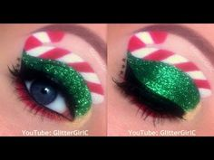 Makeup Trend: The Candy Cane Eyeliner – FactRiver | Interesting Facts