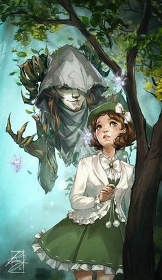 """Pan's Labyrinth inspirationofelves: """" Curious Mona by Liol """" Fantasy Inspiration, Character Inspiration, Character Design, Design Inspiration, Art Et Illustration, Illustrations, Fanart, Ouvrages D'art, Fantasy Characters"""